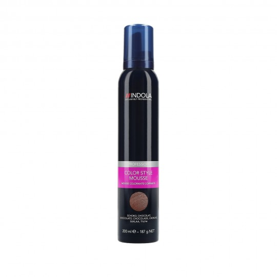 Indola Color Style Mousse Espuma colorante para el cabello 200ml