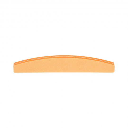 MIMO by Tools For Beauty, Buffer Pulidor de Uñas Naranja, Media Luna, 100/180