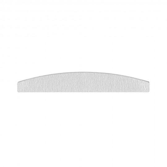MIMO Lima de uñas cebra en forma de media luna, granulado 150/150 - 1