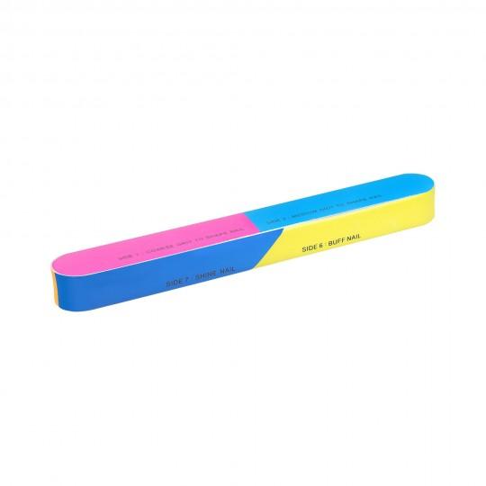 MIMO by Tools For Beauty, Buffer Pulidor de Uñas Colorido 7 en 1