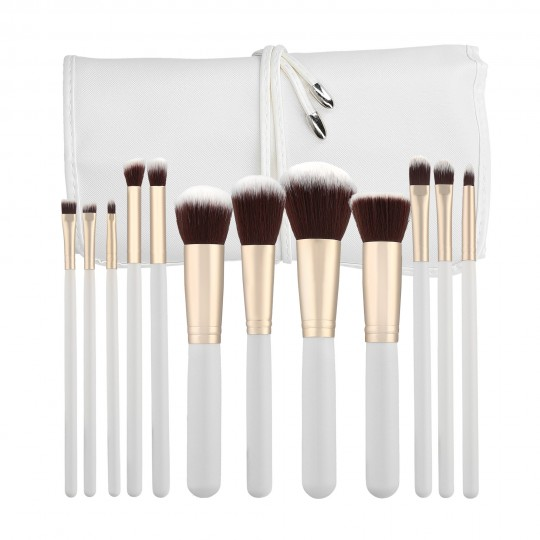 MIMO by Tools For Beauty, Set de 12 brochas de maquillaje