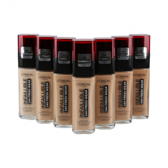 L'OREAL PARIS INFALLIBLE 24H Fresh Wear Base de maquillaje 30ml - 1