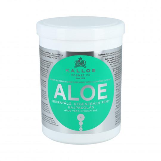 KALLOS KJMN Aloe Mascarilla hidratante 1000ml - 1