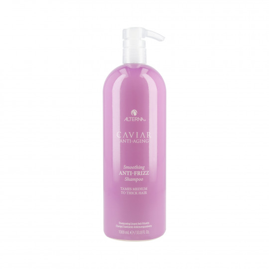 ALTERNA CAVIAR ANTI-AGING SMOOTHING ANTI-FRIZZ Champú suavizante 1000ml - 1