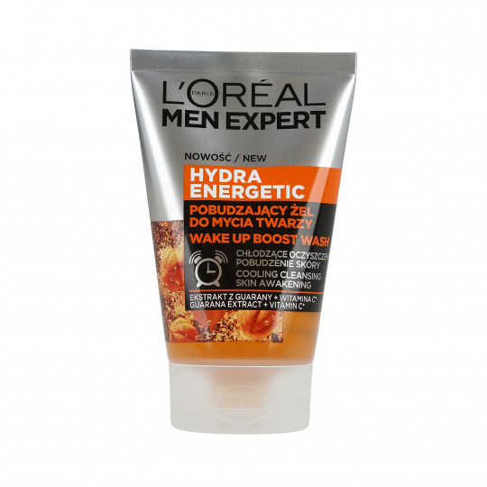L'OREAL PARIS MEN EXPERT Hydra Energetic Gel limpiador facial estimulante 100ml - 1