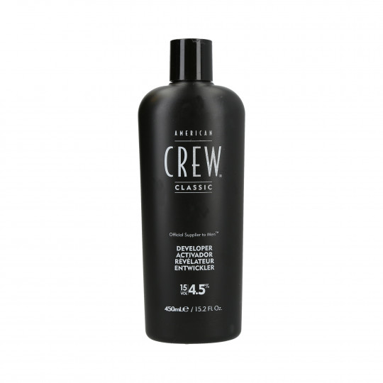 AMERICAN CREW Precision Blend Activador 4,5% (15 Vol.) 450ml - 1