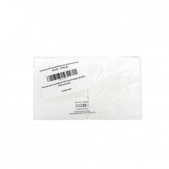 Eko - Higiena Toallitas cosméticas perforadas en rollo 25x20cm (100 piezas) - 1