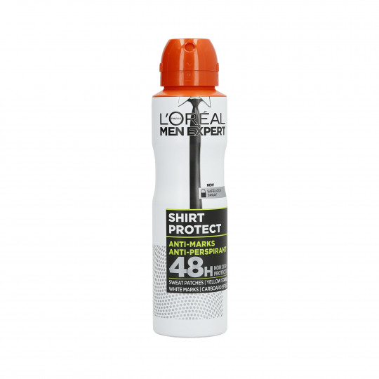 L'OREAL PARIS MEN EXPERT Shirt Protect Spray antitranspirante hombres 150ml - 1