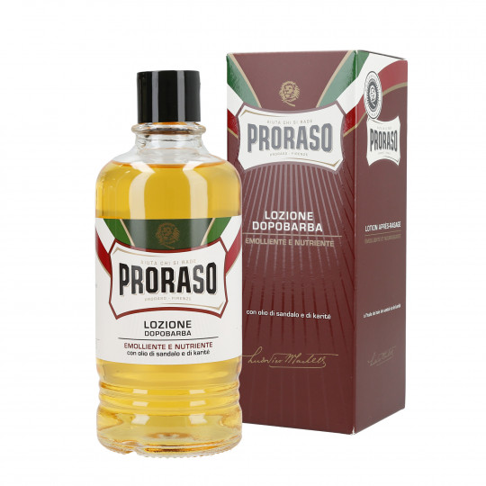 PRORASO RED LINE AFTERSHAVE LOTION 400ML