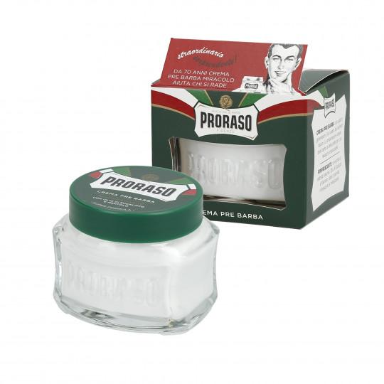 PRORASO GREEN Crema refrescante antes de afeitar 100ML