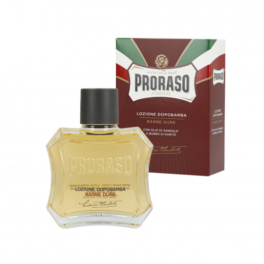 PRORASO RED LINE AFTERSHAVE LOTION 100ML