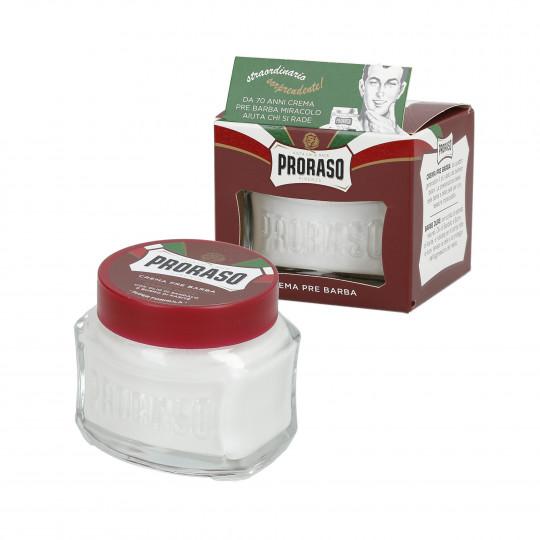 PRORASO RED Crema de afeitar nutritiva 100ml - 1