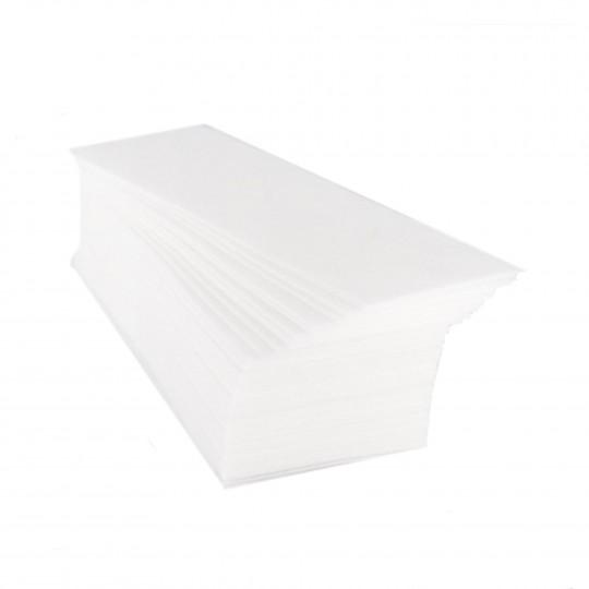 Eko - Higiena Tiras para depilación de tela no tejida extra (100 piezas)