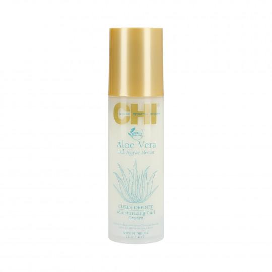 CHI ALOE VERA Crema hidratante de aloe vera cabello rizado 147ml - 1