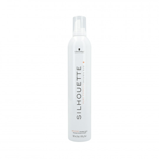 SILHOUETTE FLEXIBLE MOUSSE (WHITE) 500ML
