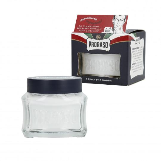 PRORASO BLUE Crema pre-afeitado hidratante 100ml