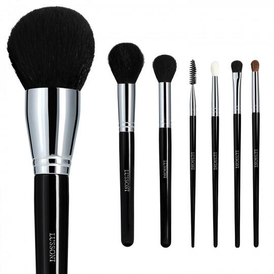 LUSSONI Must-haves - Set de 7 Brochas de Maquillaje Profesional - 1