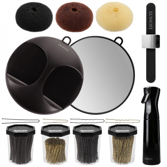 LUSSONI by Tools For Beauty, Set de 10 Accesorios de Peluquería - 1