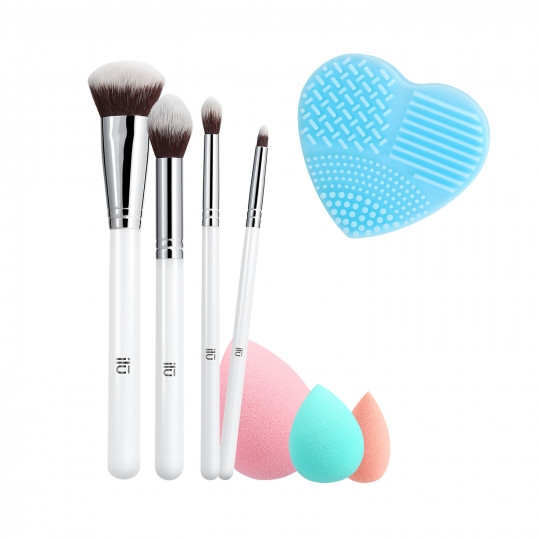 ilū by Tools For Beauty, Perfect Pick Up - Set Brochas de Maquillaje - 1