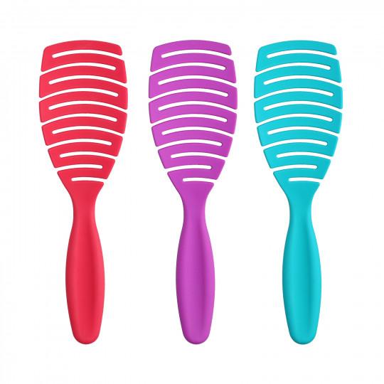 ilū by Tools For Beauty, My Happy Color Set de 3 Cepillos Profesionales para Peinado - 1