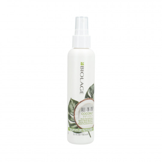 BIOLAGE ALL IN ONE Coconut Spray multiusos para cabello 150ml - 1