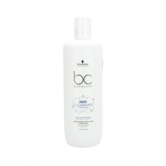 SCHWARZKOPF PROFESSIONAL BC DEEP CLEANSING Champú purificante 1000ml - 1