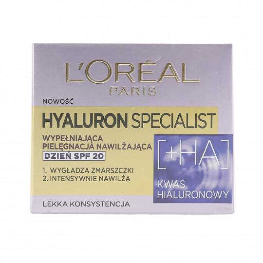 L'OREAL PARIS HYALURON SPECIALIST Crema de día SPF20 50ml - 1