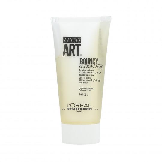 L'OREAL PROFESSIONNEL TECNI.ART Bouncy&Tender Gel crema para rizos 150ml - 1