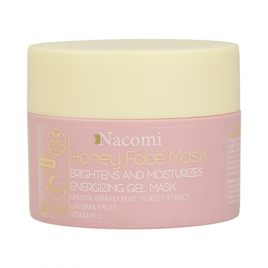 NACOMI Honey Face Mascarilla hidratante y aclaradora de miel 50ml - 1
