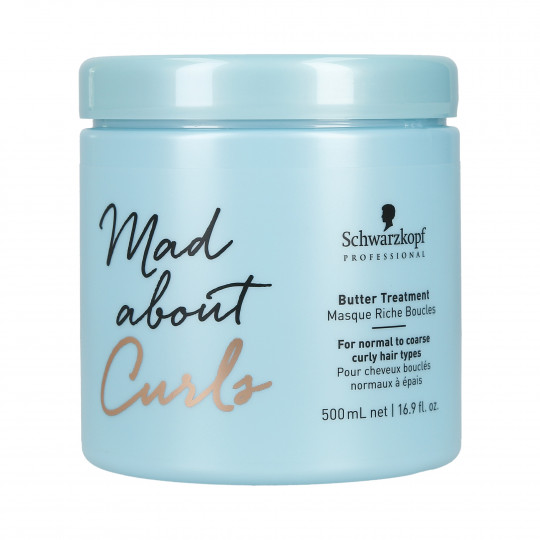 SCHWARZKOPF PROFESSIONAL MAD ABOUT CURLS Butter Treatment Mascarilla 500ml - 1