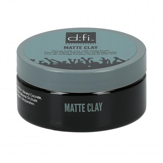D:FI Matte Clay Arcilla Mate para Peinado 75g - 1