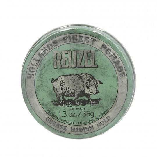 REUZEL GREEN GREASE MEDIUM HOLD POMADE 35G