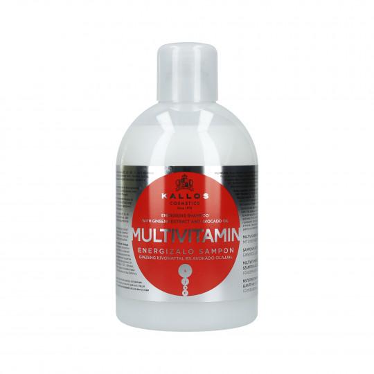 KALLOS KJMN Champú multivitamínico energizante para el cabello 1000ml - 1