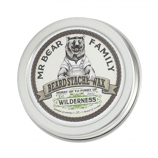 MR BEAR FAMILY Cera para bigote y barba Wilderness 30ml - 1