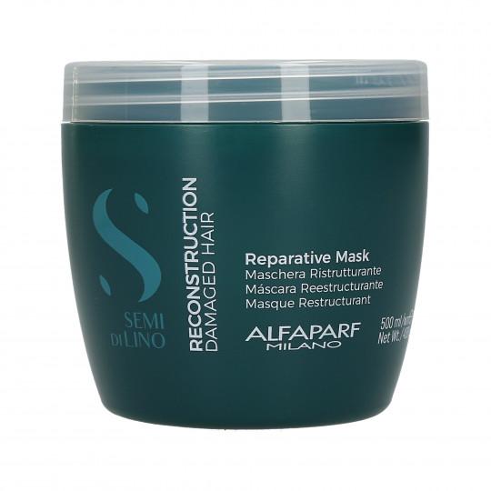 ALFAPARF SEMI DI LINO RECONSTRUCTION Mascarilla para reconstruir el cabello 500ml