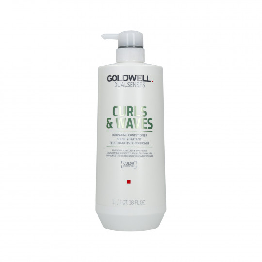 GOLDWELL DUALSENSES CURLS & WAVES Acondicionador hidratante para el cabello 1000ml - 1
