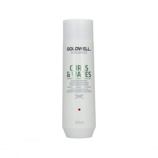 GOLDWELL DUALSENSES CURLS & WAVES Champú hidratante para el cabello 250ml - 1