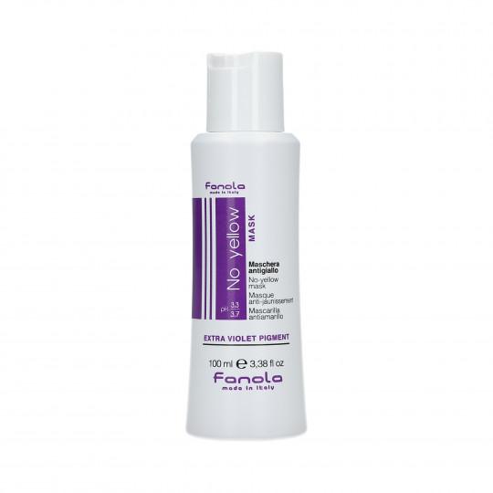 FANOLA NO YELLOW Mascarilla antiamarillo para cabello rubio 100ml