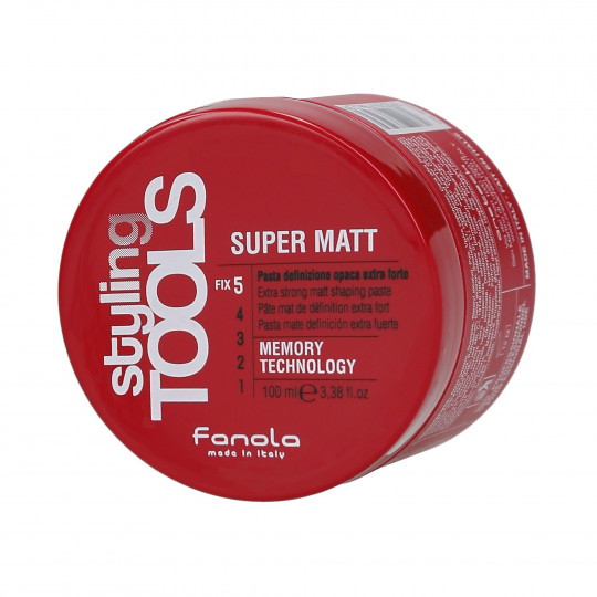 FANOLA STYLING TOOLS Super Matt Pasta de pelo mate muy fuerte 100ml