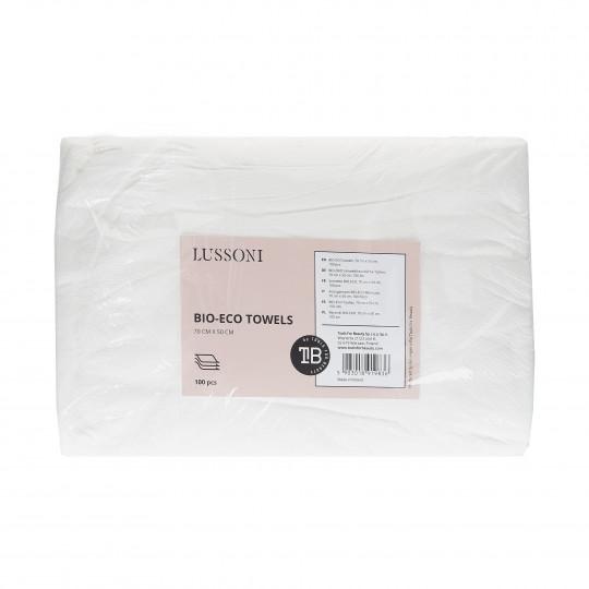 LUSSONI BIO-ECO Toallas, 70 cm x 50 cm, 100 uds