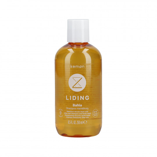 KEMON LIDING BAHIA Champú refrescante para cabello y cuerpo después del sol 250ml