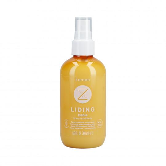 KEMON LIDING BAHIA Spray hidratante para cabello y cuerpo después del sol 200ml - 1