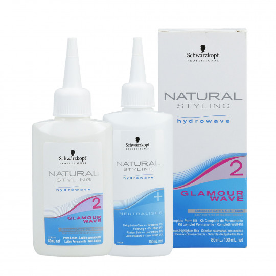 NATURAL STYLING GLAMOUR WAVE (2) SET