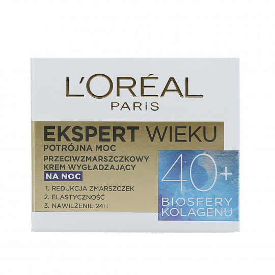 DERMO EXPERTISE AGE SPECIALIST 40+ NIGHT 50ML