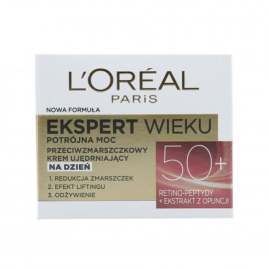L'OREAL PARIS AGE EXPERT Crema de día reafirmante antiarrugas 50+ 50ml - 1