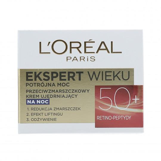 L'OREAL PARIS AGE EXPERT Crema de noche antiarrugas 50+ 50ml - 1
