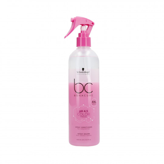 SCHWARZKOPF PROFESSIONAL BC COLOR FREEZE Acondicionador Spray para cabello teñido 400ml - 1