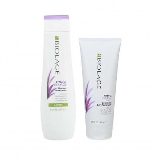 BIOLAGE HYDRASOURCE Set cabello seco - Champú 250ml + Acondicionador 200ml - 1