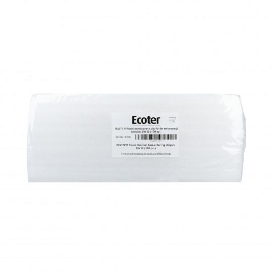 EKO-HIGIENA Tiras térmicas de espuma para la coloración del cabello 100 uds. - 1