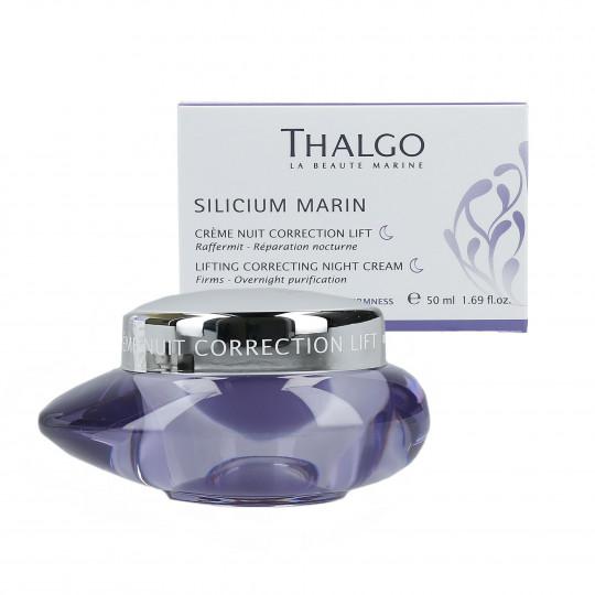 THALGO SILICIUM Marin Crema facial reafirmante para la noche 50ml - 1
